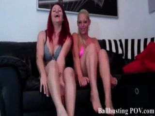 Cat And Courtney Team Up On Your Balls