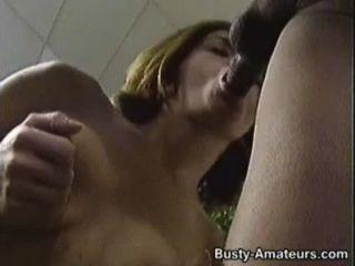 Busty Sarah Riding On Her Boyfriends Stiff Cock