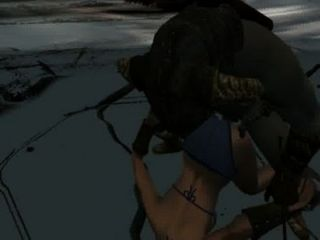Perils of escaped skyrim slavegirl 09 10