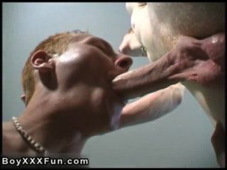 Hot Twink Scene Louie And Parker Push Their Uncut Hard-ons Into Each
