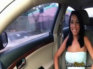 Model Girl Seduced In Car With Smooth Talk