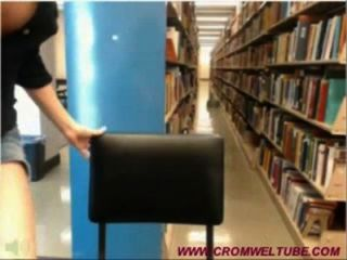 Library Cam Girl Gets Caught - Www.cromweltube.com