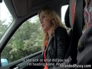 Cute Blonde Girl Nishe Gets Tight Pussy Destroyed By Dudes Massive Hard Cock