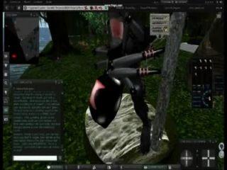 Spiderwoman Captiving The Werewolf To Mate - Naughty Machinima