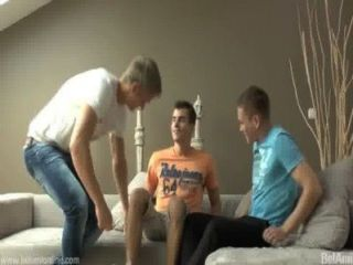Triple Pleasure On Belami!