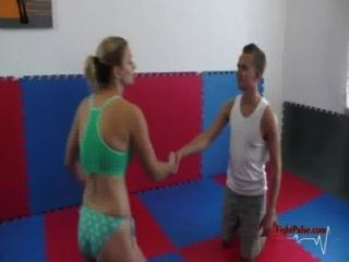 Mx-03: Viktoria Vs David - Competitive Mixed Wrestling