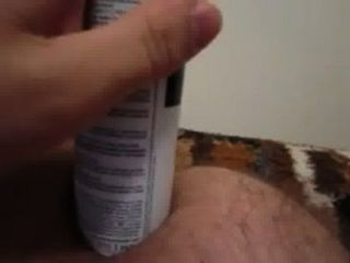 Homemade Anal Toy Gaping