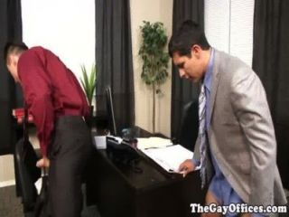Gay Office Hunk Assfucked Deeply