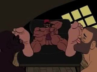 Licking Feet