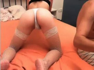 Getting Fingered And Sucking A Cock