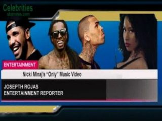 "Nicki Minaj's ""only"" Music Video"