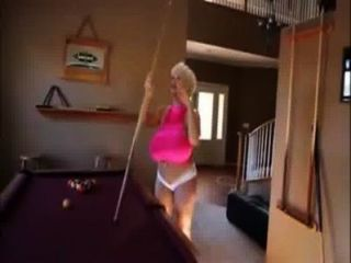 Claudia Marie - Playing Pool