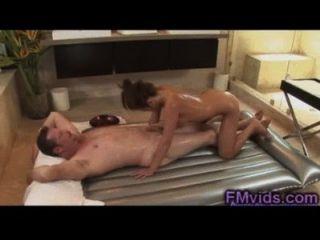 Mia Lelani Cock Massage