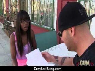 Ebony Slut In An Amazing Gangbang 23