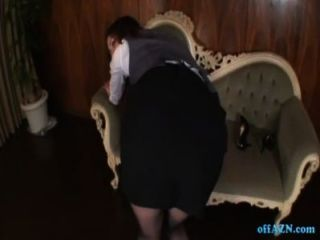 Secreaty In Pantyhose Riding On Guy Rubbing Cock With Pussy Giving Footjob Cum T