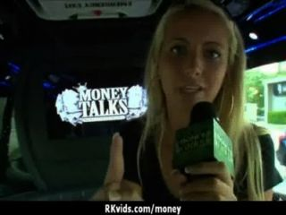 Amateur Chick Takes Money For A Fuck 24