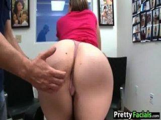 Thick White Girl Facial Video Briella Bounce 1 1.1