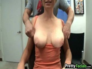 Short Hair Blonde Facial Video Tracy Lee 1 1.1