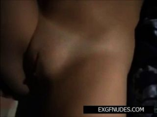 Babe Cums While Guy Fingers Her Juicy Shaven Cunt