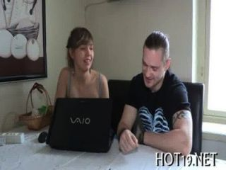 Boy Looks At Gf Fucked