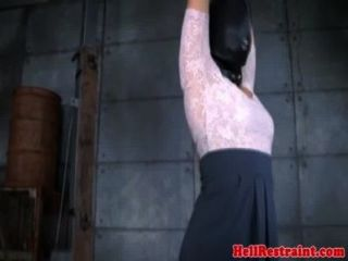 Sensory Deprived Skank Being Punished