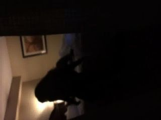 Girl Riding Bf In Hotel Window