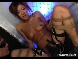 Electrifying Asian Orgasm