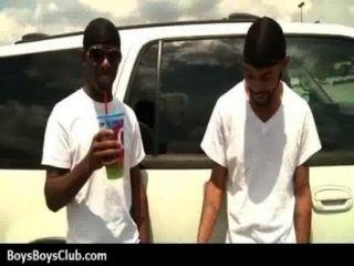 Muscled Black Gay Boys Humiliate White Twinks Hardcore 04