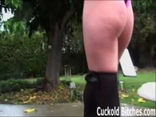 Watch While A Big Black Cock Tears My Pussy Up