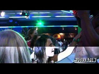 Group-sex Wild Patty At Night Club