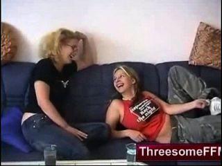 Homemade German Threesome