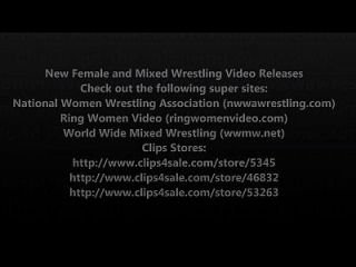 New Female Wrestling And Mixed Wrestling Video Release - Volume 7