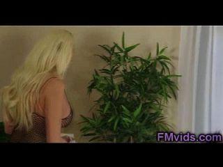 Incredible Hot Busty Blonde Summer Brielle Hot Sucking