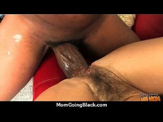 Monster Black Cock Bangs My Moms White Pussy 29