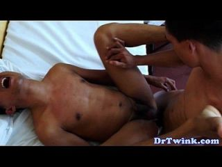 Asian Twink Fucked By His Doc Bareback
