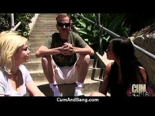 Ebony Slut In An Amazing Gangbang 8
