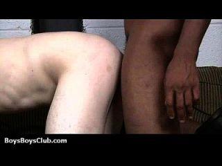 Muscular Black Dudes Fuck Gay White Boys 07