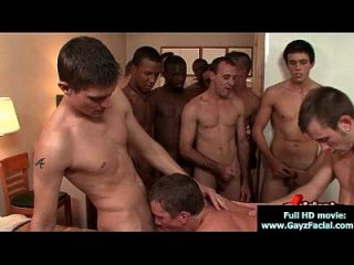 Bukkake Boys - Gay Guys Get Covered In Loads Of Hot Cum 07