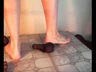 [clips4sale.com]pink Toes Own His Black Meat!