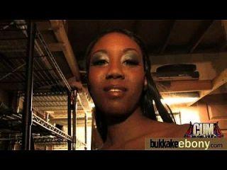 Interracial Bukkake Sex With Black Porn Star 23