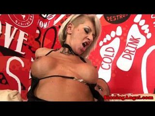 Feisty Blonde Whore In Boot Assfucked Deeply