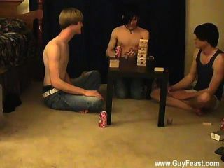 Gay Guys Trace And William Get Together With Their New Friend Austin