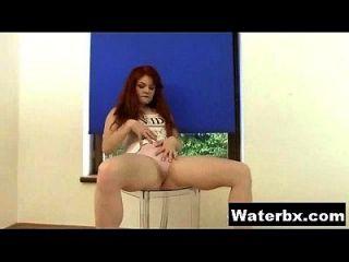 Kinky Teen Naked Solo Peeing
