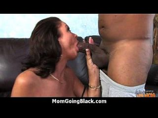 Huge Black Meat Going Into Horny Mom 29
