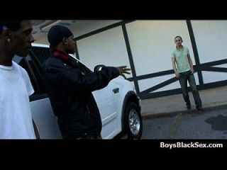 Blacks On Boys - Nasty Gay Interracial Hardcore Action 22