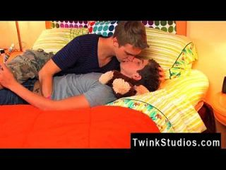 Gay Orgy You Get To See These Two Steamy Youngsters Go On A Tryst