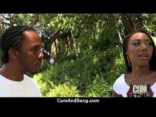 Ebony Slut In An Amazing Gangbang 6