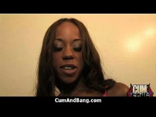 Ebony Slut In An Amazing Gangbang 17