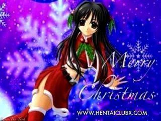 Ecchi Sexy Anime Girl Christmas Sexy