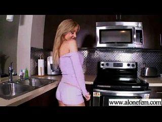Alone Sexy Horny Girl Masturbating Tender Vid-01